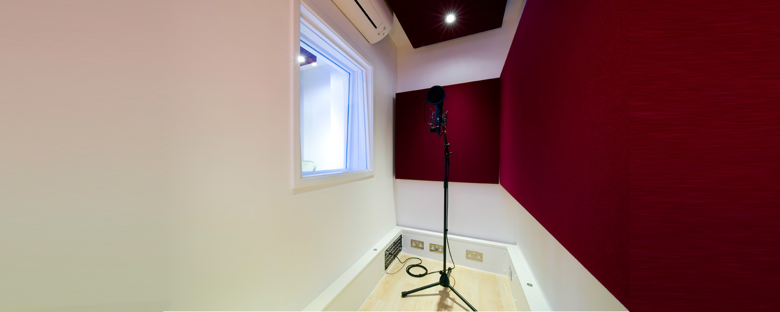 Acoustically Live Room